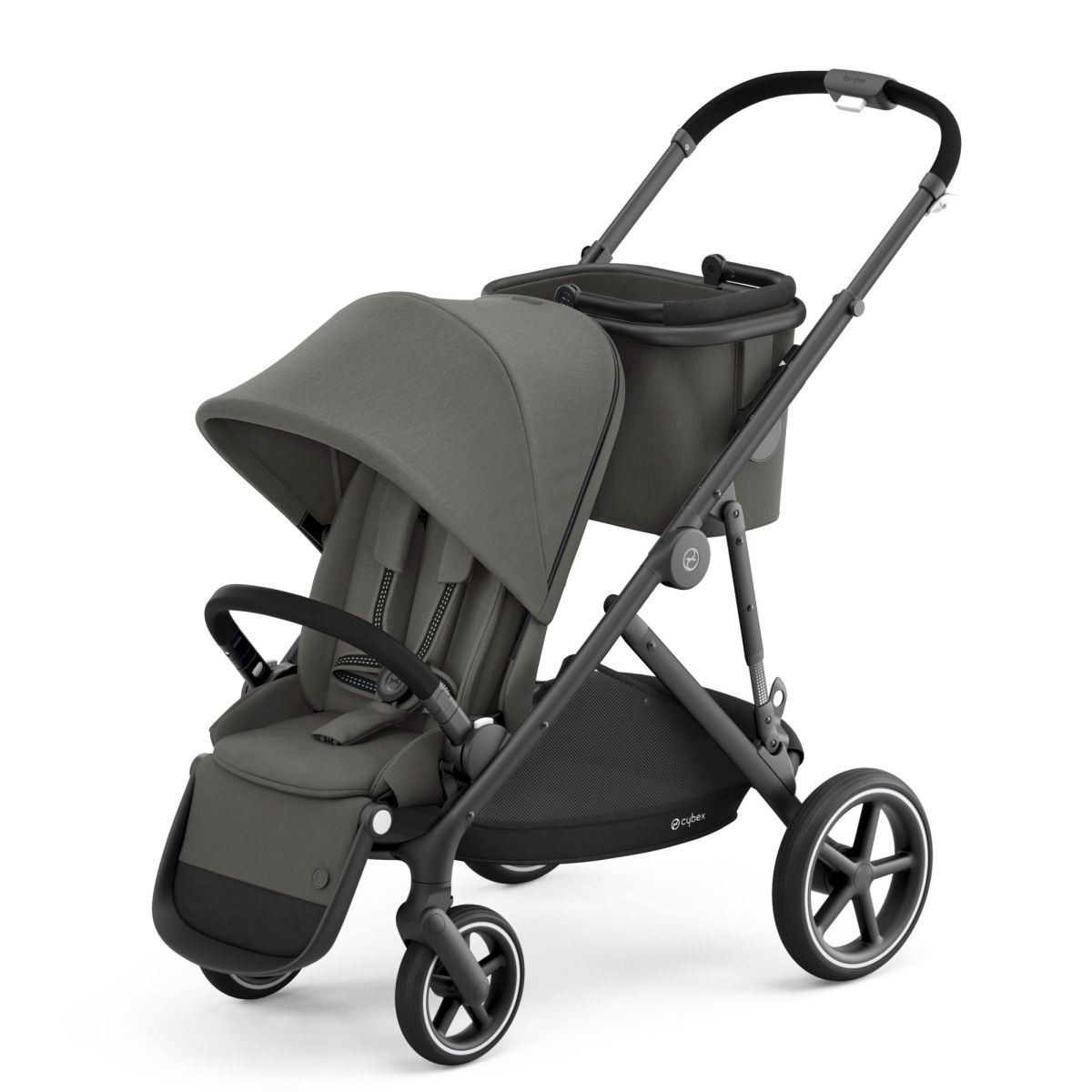 Cybex Gazelle S Black Frame Soho Grey