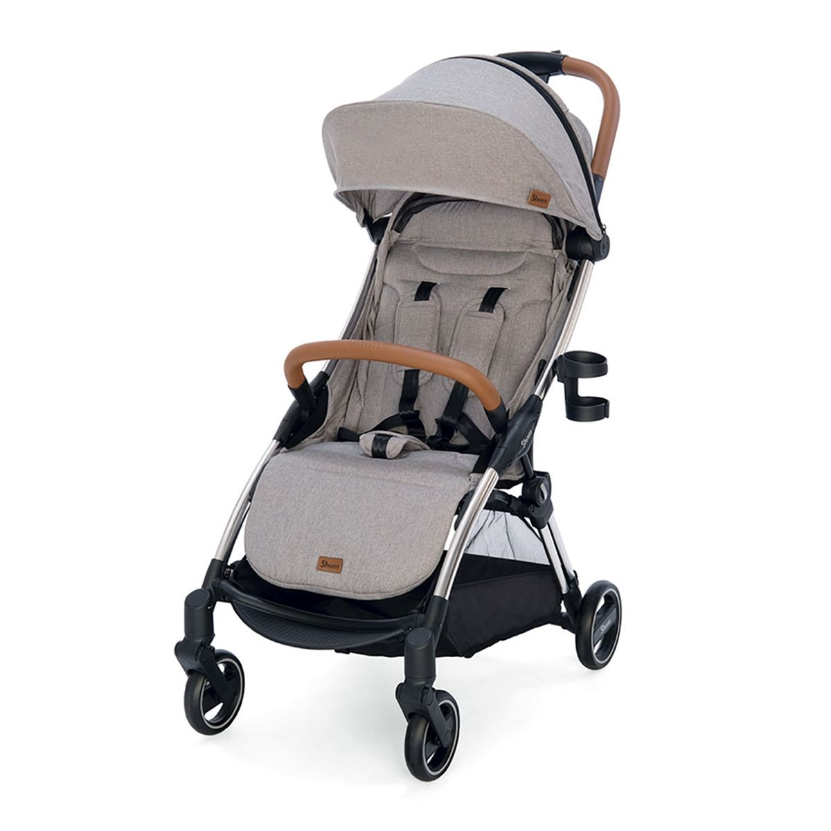 silla de paseo Shom Magical Flash Dark Grey