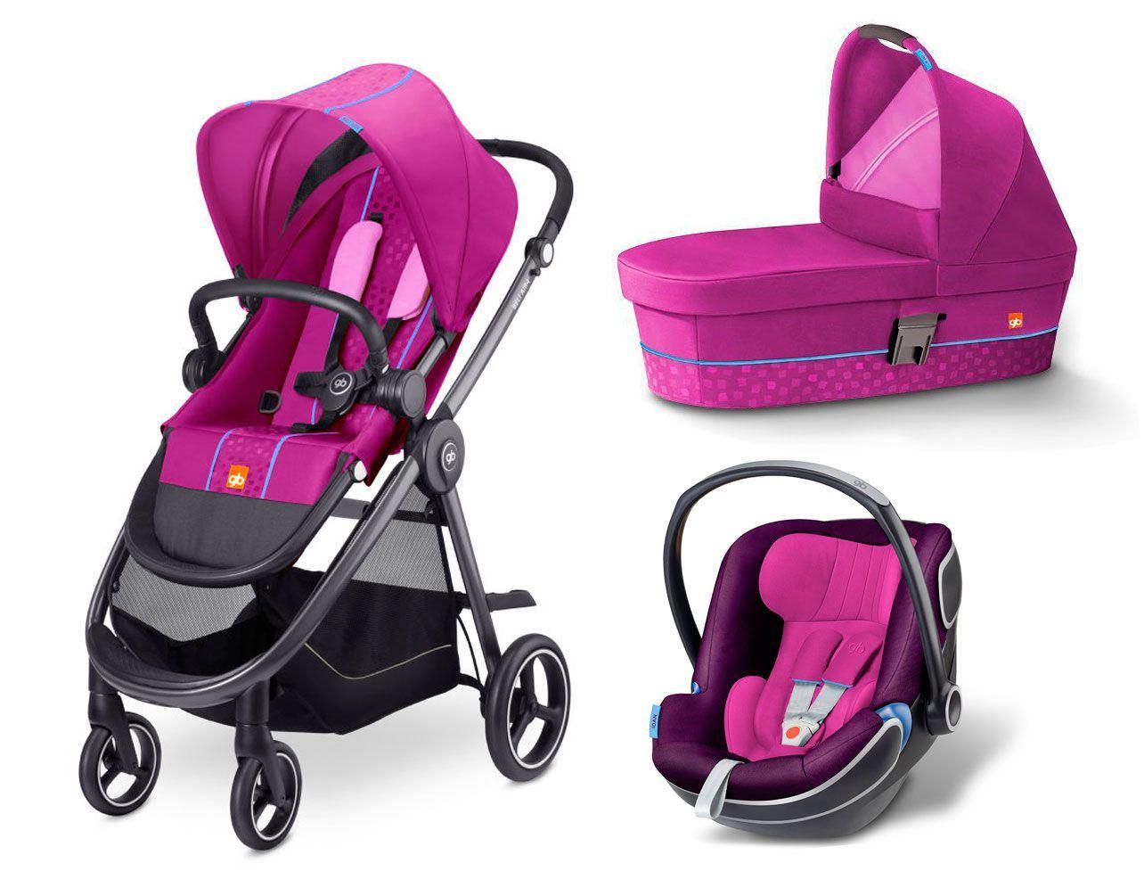 coche de bebe Beli Air 4 de GB Psh Pink
