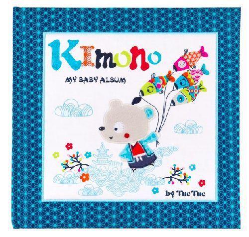 Álbum bebé kimono niño tuc tuc