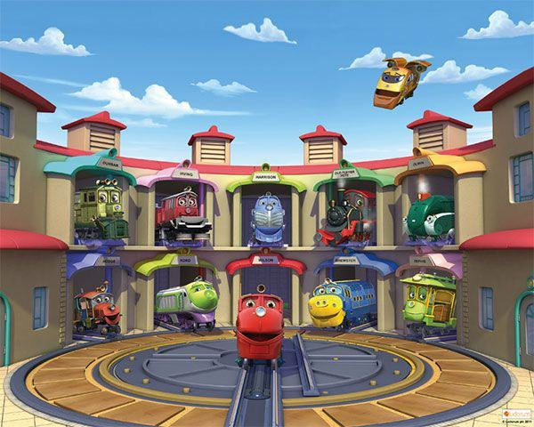 Foto Mural Chuggington ( Traintastic )